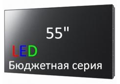 Модуль для ЖК видеостен диагональю 55 дюймов бюджетной серии с  <b>LED подсветкой </b>.<br> Модель <b>ORN-55CAS_UA</b>