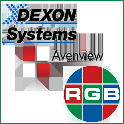 Мультиоконные графические видеосервера (модульные видеопроцессоры) под управлением ОС Windows <BR>Производитель:<b>DEXON</b>