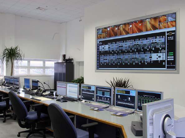 Видеостены диспетчерской/ситуационного центра: системы визуализации и управления